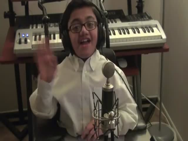 """Kids Makes An Incredible Cover Of Eminem's """"Not Afraid"""""""