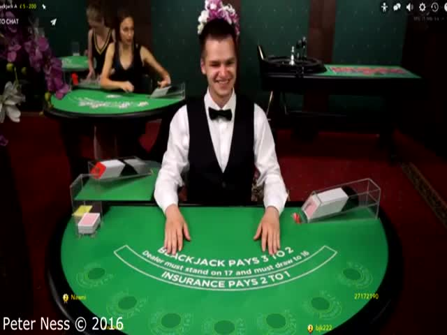 Guy Trolls Online Blackjack Dealers And It's Hilarious