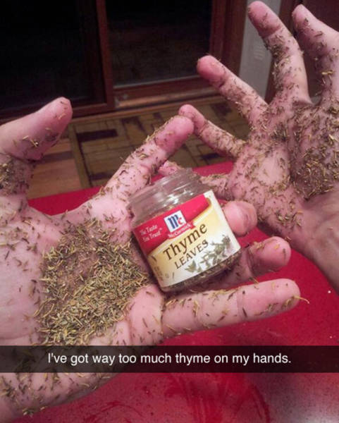 Funny Food Snapchats That Will Improve Your Mood