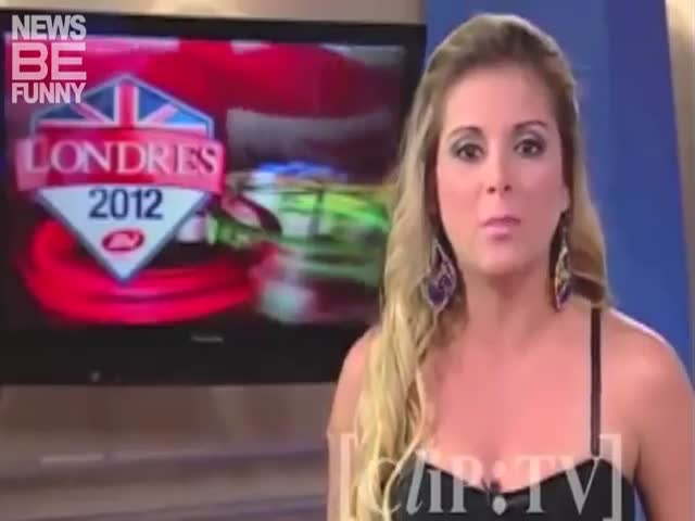 The Most Hilarious Olympic News Bloopers