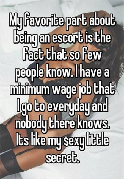 Girls That Work As Professional Escorts Reveal Interesting Facts About Their Trade