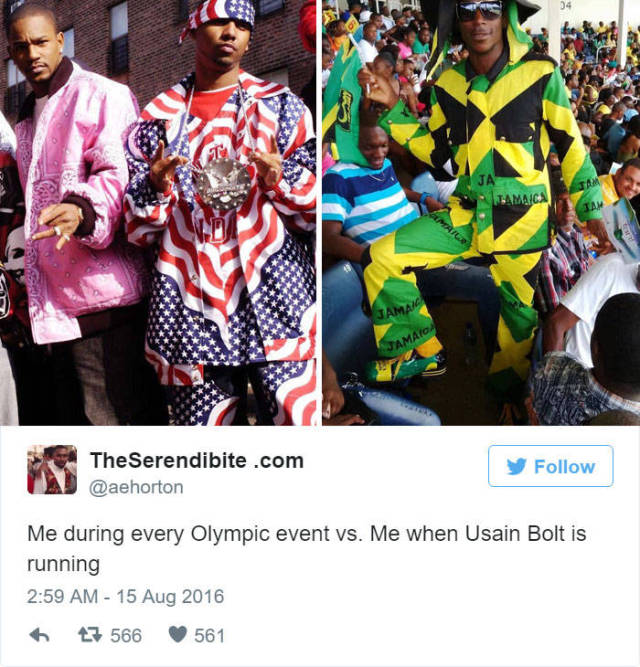 Hilarious Reactions On Twitter To Usain Bolt's Victory At Rio Olympics