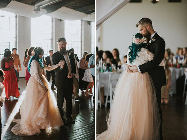 Paralized Bride Surprises All The Guests At Her Wedding