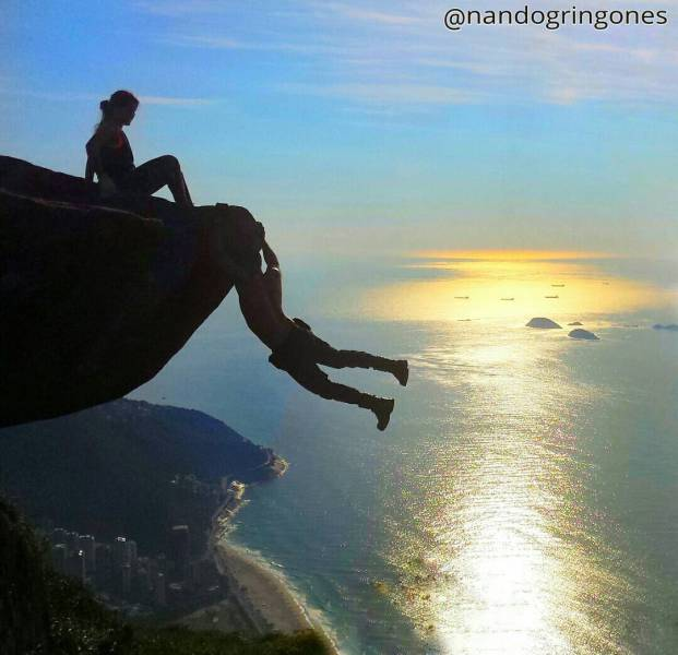 This Brazilian Daredevil Has Balls Of Steel Or Does He Really?