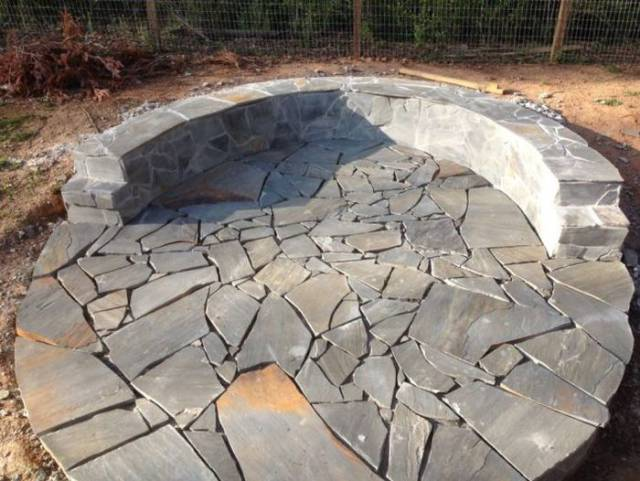 Visual Guide For Building A Backyard Fire Pit With Blocks And Stones