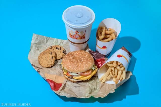 What 2,000 Calories Of Fast Food Look Like