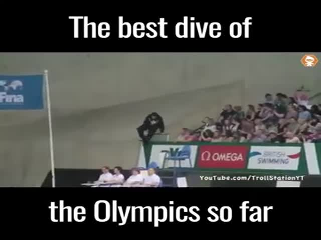 The Best Dive Of The Olympics So Far