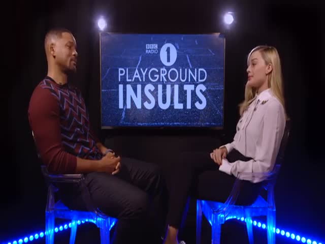 Will Smith Vs Margot Robbie In Playground Insults Games