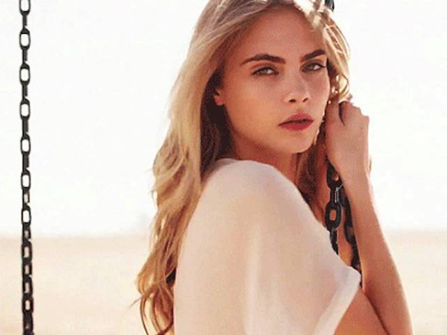 Cara Delevingne Is A Real Smoke Show