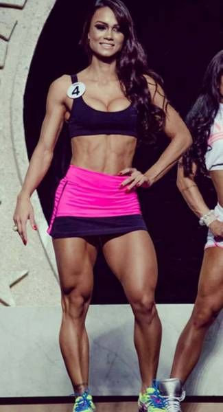 Girl Who Never Skipped Leg Day