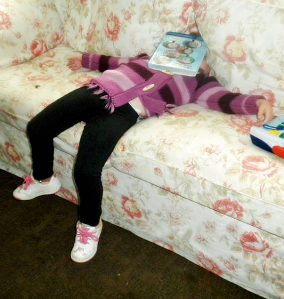 Kids Have This Amazing Ability When They Can Literally Fall Asleep Anywhere