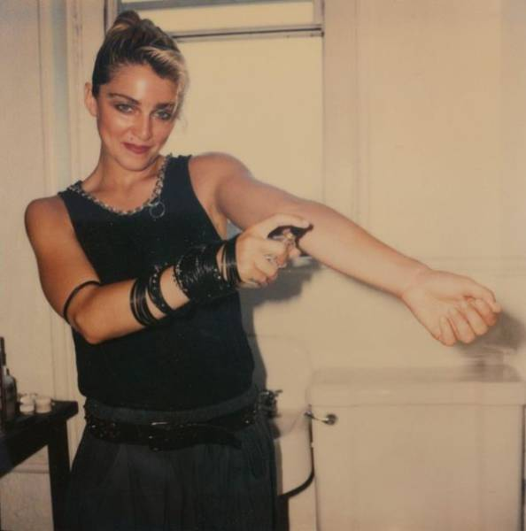 Old Polaroid Photos Of Madonna Before She Became Famous