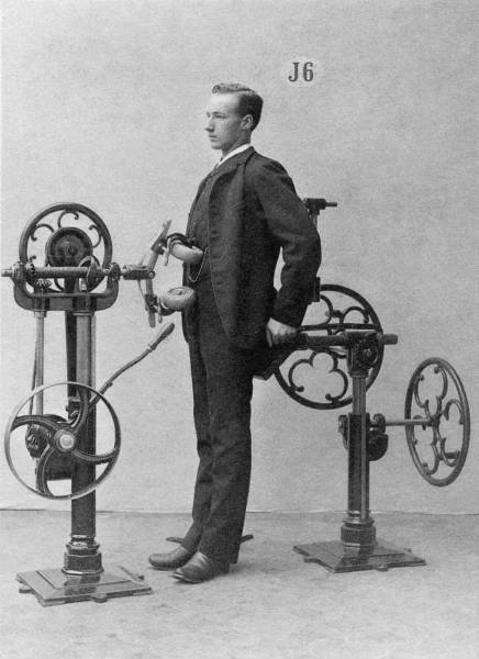 Wacky Vintage Exercise Machines From The First Gym
