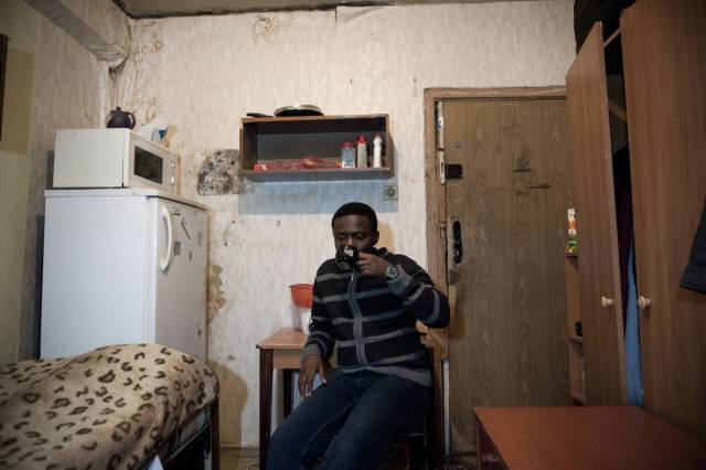 Dingy Russian College Dorms