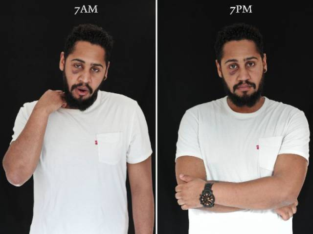 How People Look At 7 AM vs 7 PM