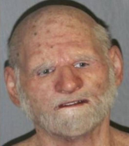 Fugitive Tried To Throw The Police Off The Trail By Disguising As An Old Man