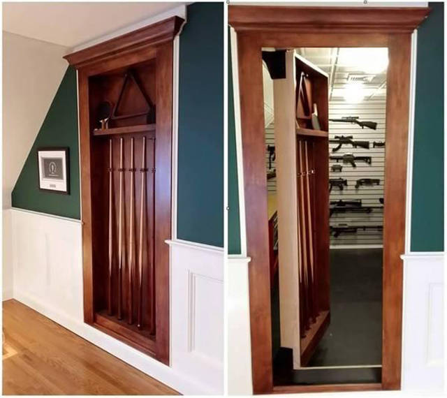 Clever Hiding Spots For Guns