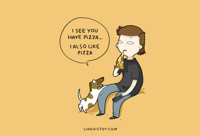 Funny Illustrations About Dogs That All Dog Owners Will Totally Understand
