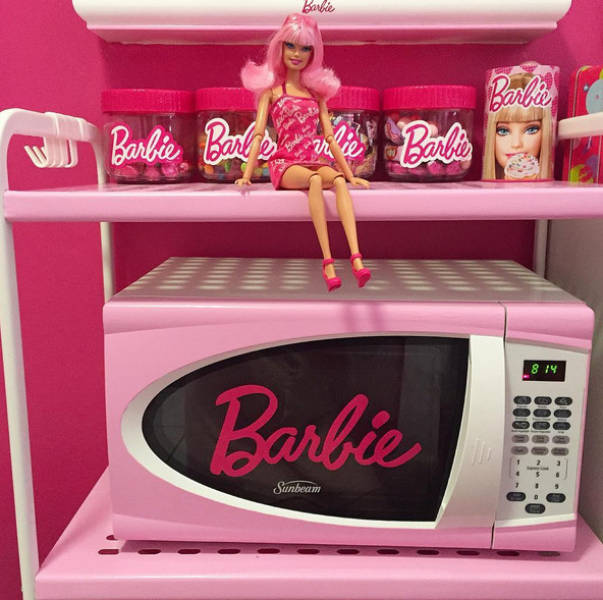 This Woman Has Gone Cuckoo Over Barbie