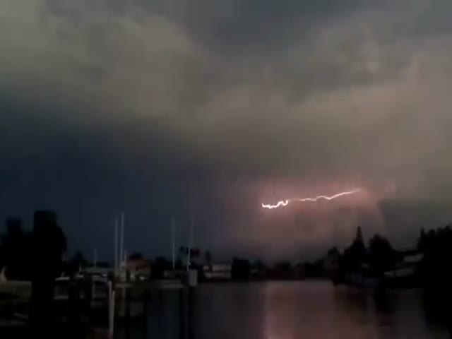 That's One Helluva Lightning That No One Has Ever Witnessed Before