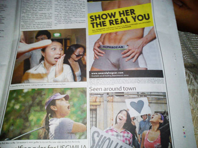 Both Terrible And Hilarious Newspaper Layout Fails