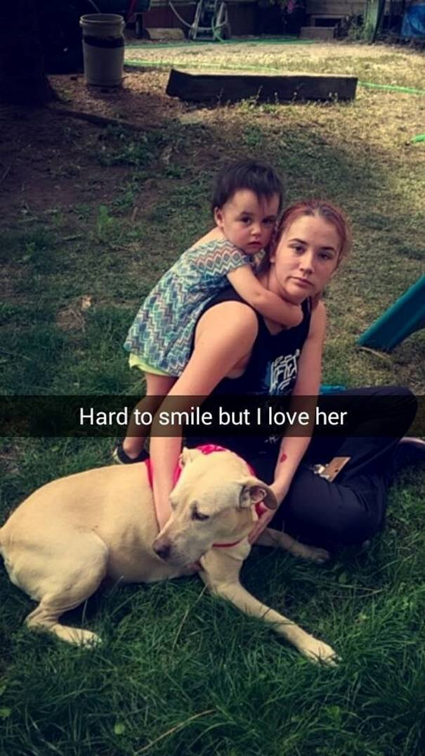 Girl Documents The Last Day With Her Dog With Snapchats And It's Heartbreaking