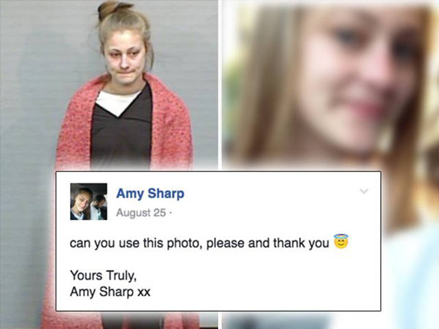 A Girl On The Run Asks Cops To Use A Better Looking Photo Of Her As A Mugshot