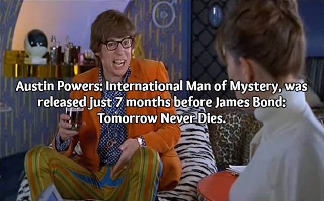 Here Are Some Nifty Facts About The Austin Powers Series