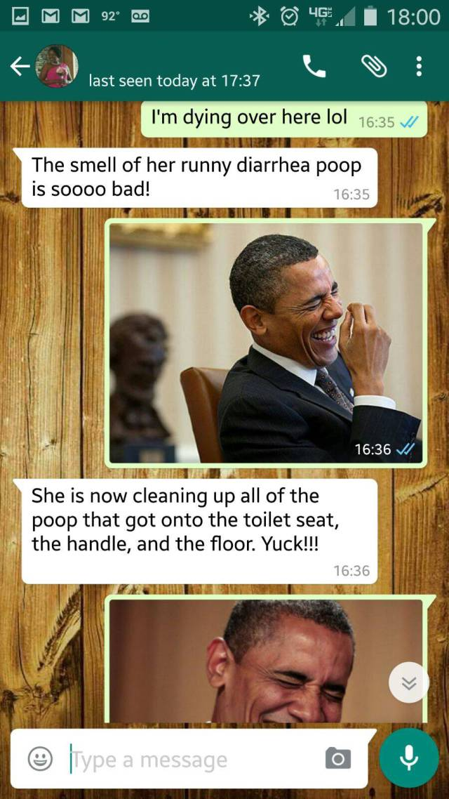 Girl Texts A Crazy Story That Happened To Her In A Toilet Stall