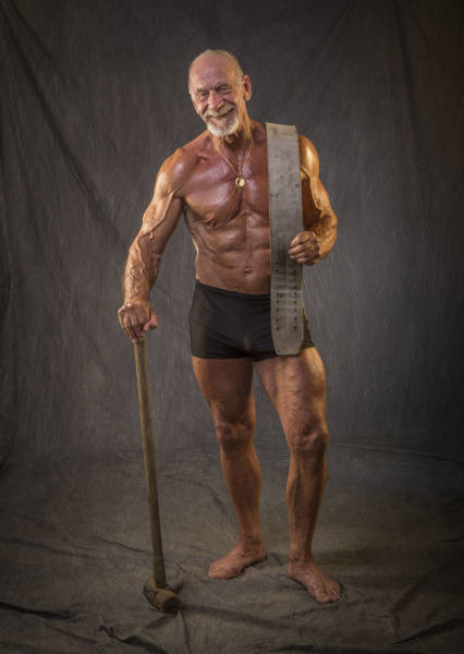 Body Of A Bodybuilder At 40 Vs 80 Years Old  10 Pics