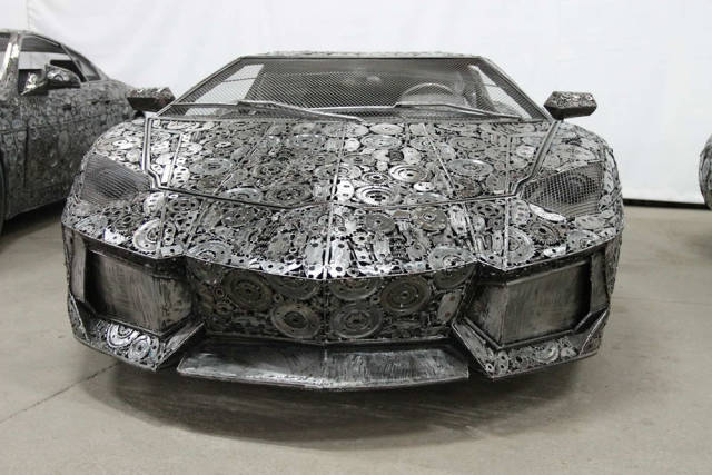 These Cars Made From Scrap Metal Look Really Impressive
