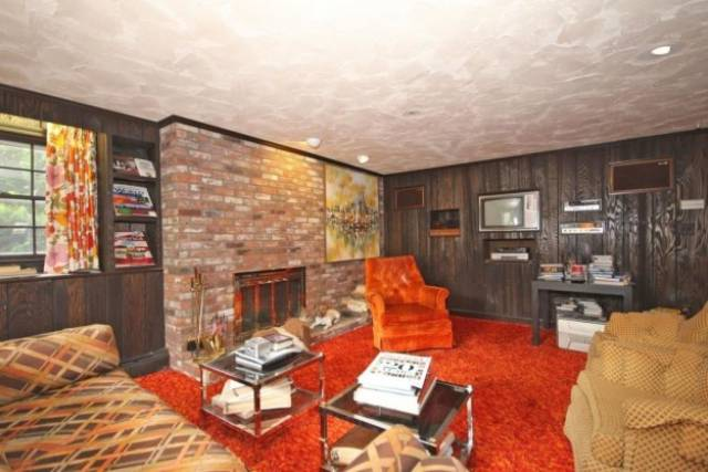 This House, Built And Decorated In The 70s, Has Remained Untouched Since