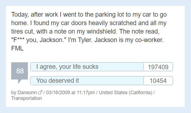 People Share Their 'F#ck My Life' Stories That Are Both Sad And Hilarious