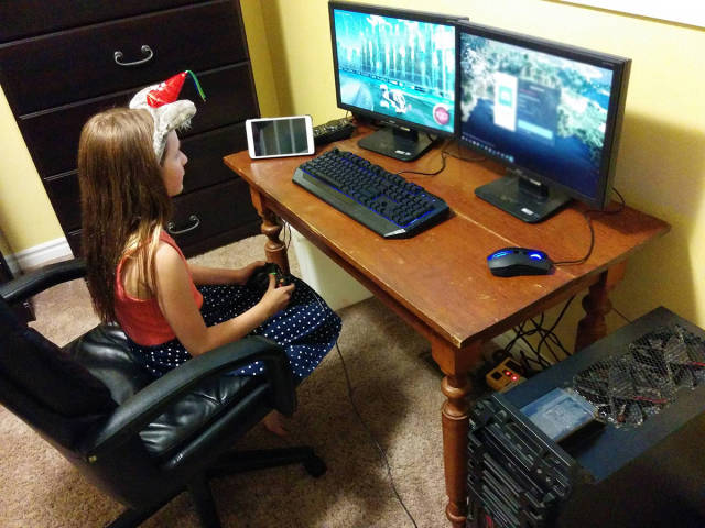 Brothers Make Perfect Gift For Their Little Gamer Sister
