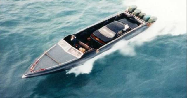 Stunning Boat That Smuggled Luxury Cars To China