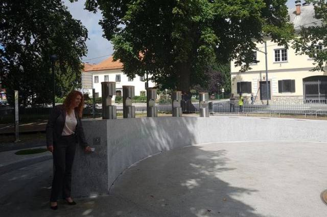 A Beer Fountain Is Opened In Slovenia