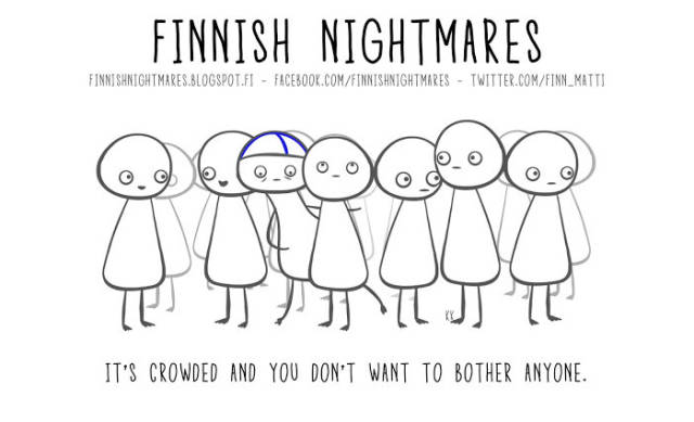 Another Bunch Of Illustrations About Finnish Nightmares That Anyone Can Understand