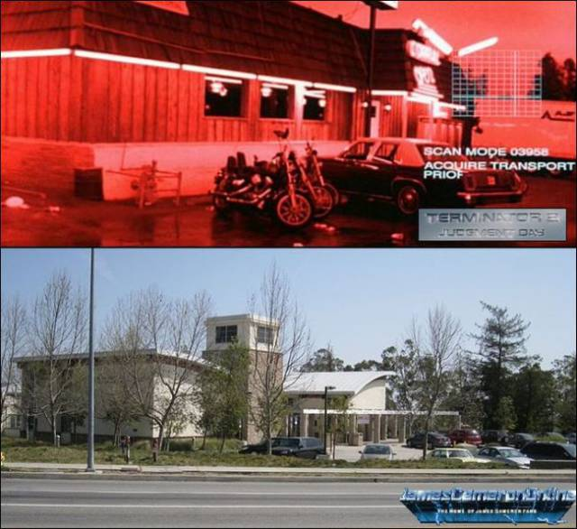 "Here Is What Locations From ""Terminator 2"" Movie Look Like Today"