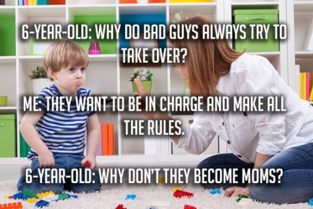 Funny And Crazy Things Kids Have Ever Told Their Parents