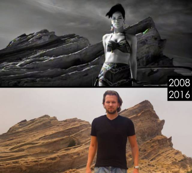 Guy Visits Locations From Famous Movies To See What They Look Like Today