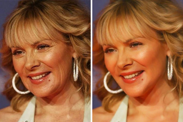Striking Difference Between Celebs Before And After Photoshop