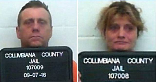 Shocking Photos Of Parents Who Passed Out In A Car Overdosed On Heroin