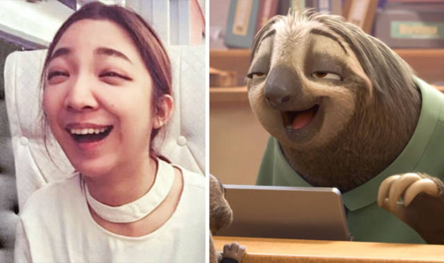 Cartoons And Their Impressive Real-Life Lookalikes