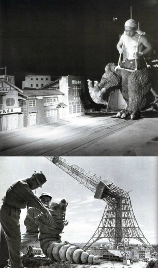 Behind The Scenes Pictures Of Iconic Movie Scenes