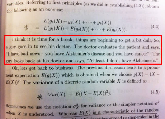 Funny Stuff Spotted In Textbooks