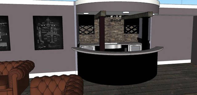 Guy Builds An Amazing Aviator Basement Bar That Can Make A Lot Of People Jealous