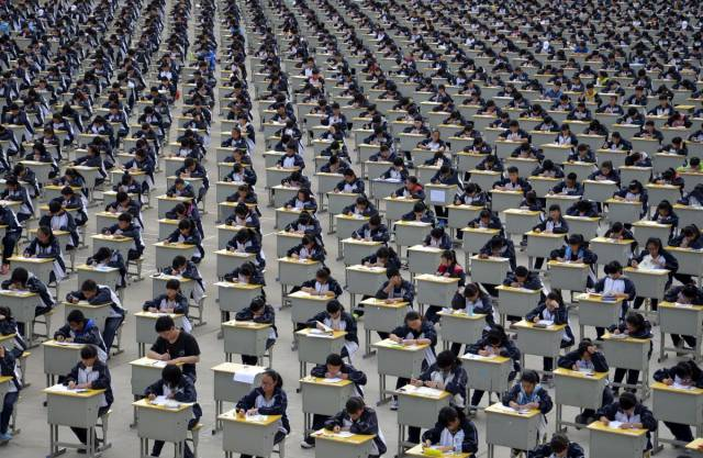 Stunning Photos That Show How Incredibly Crowded China Is