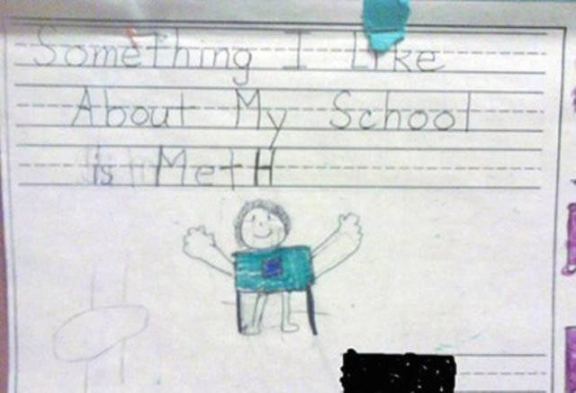 These Notes Written By Kids Prove That They Are Insane
