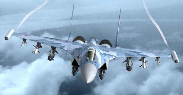 Who Would Win: America's F-22 Stealth Fighter vs Russia's Su-35