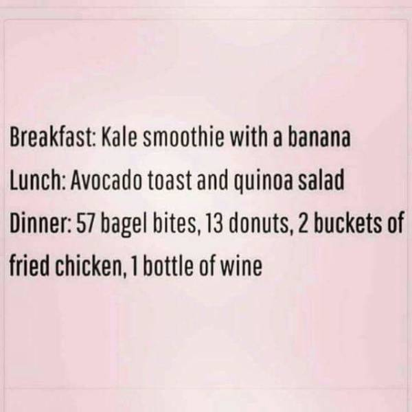 Funny Diet Fails That Anyone Can Relate To